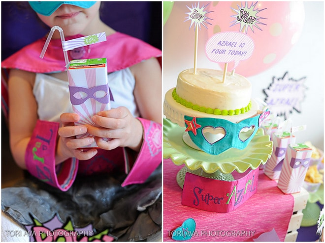 ADORABLE Girly Superhero Party!