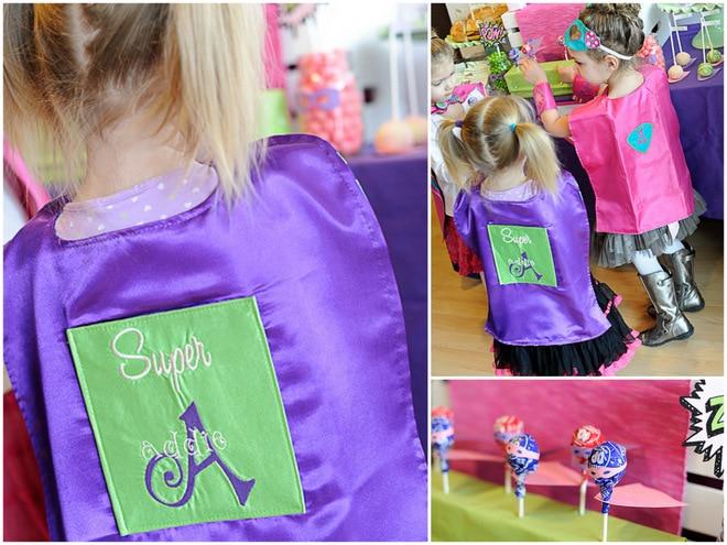 ADORABLE Girly Superhero Party