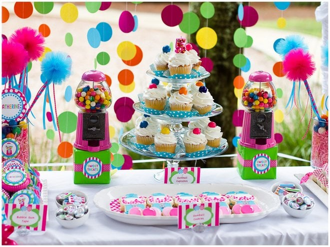 Gumball birthday Party