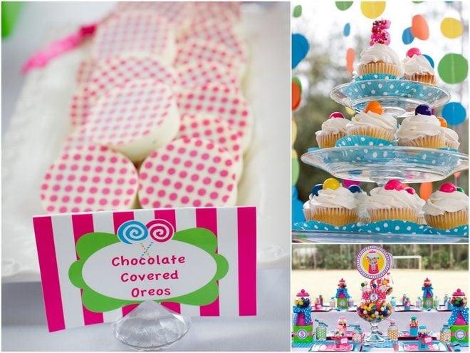 Gumball birthday Party treats
