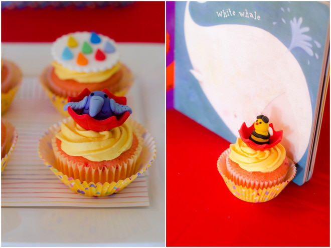 Colorful Raindrops Rainbow Party 3