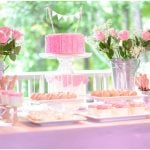 Ruffles + Roses Birthday Party for Little Girl