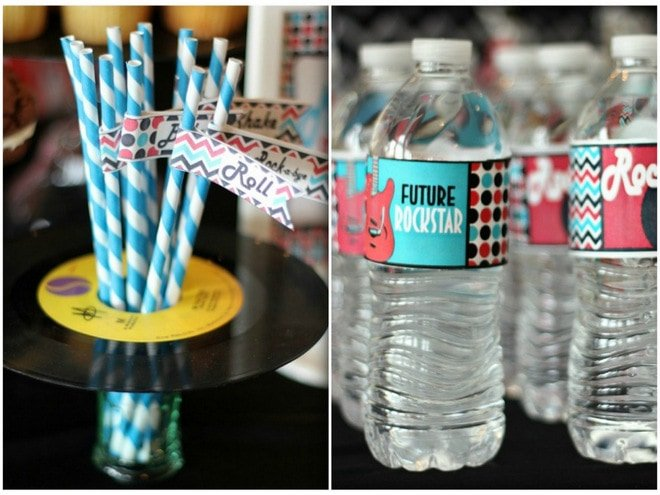 Rock And Roll Quot Rock A Bye Quot Baby Shower Pizzazzerie