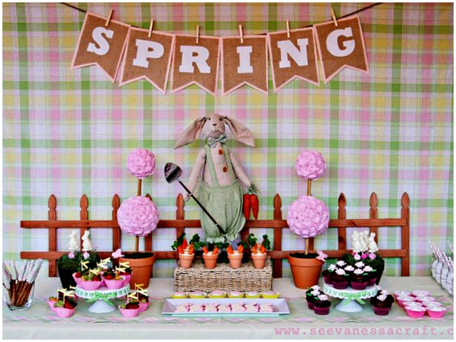 Spring Craft Party