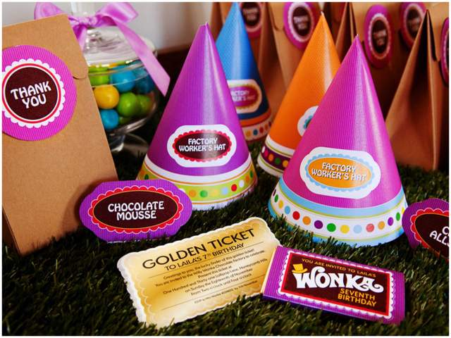 Willy Wonka Birthday Party 7