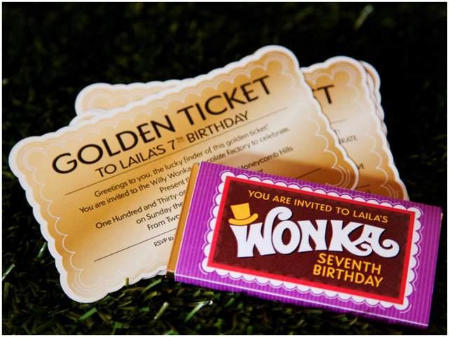 Willy Wonka Birthday Party 4