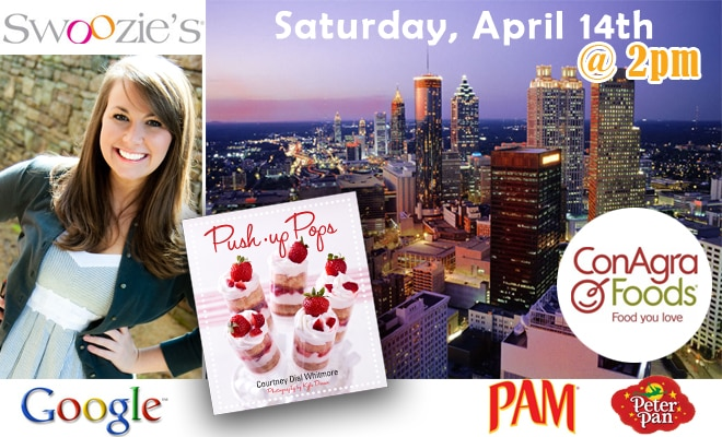 atlanta push-up pops book signing by courtney dial whitmore