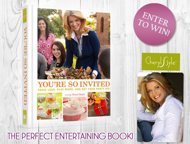Win Cheryl Najafi's Book…You're So Invited!