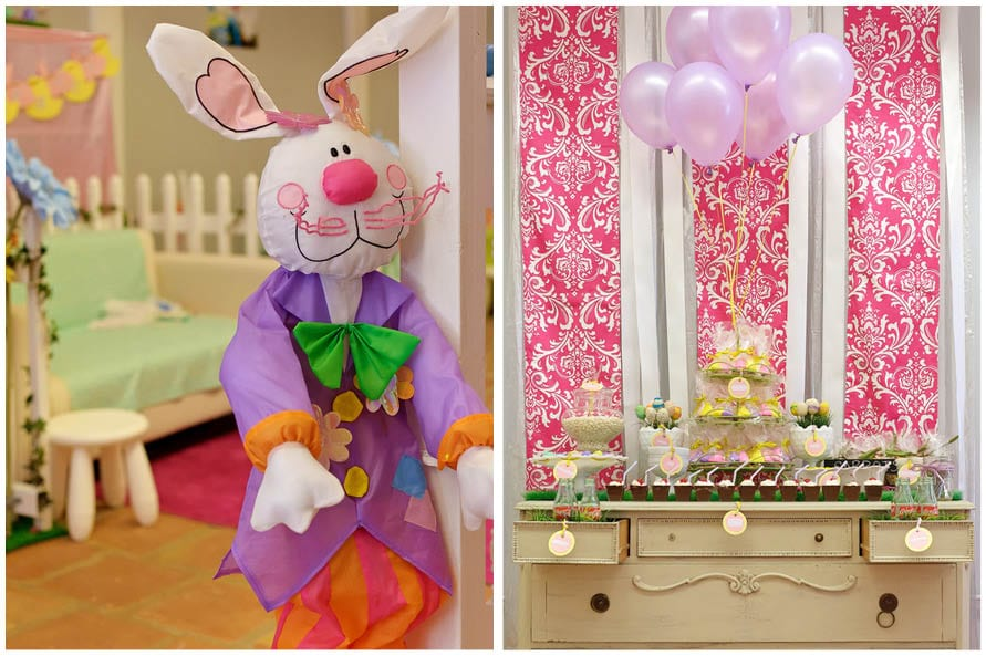 cute easter bunny party picture 1