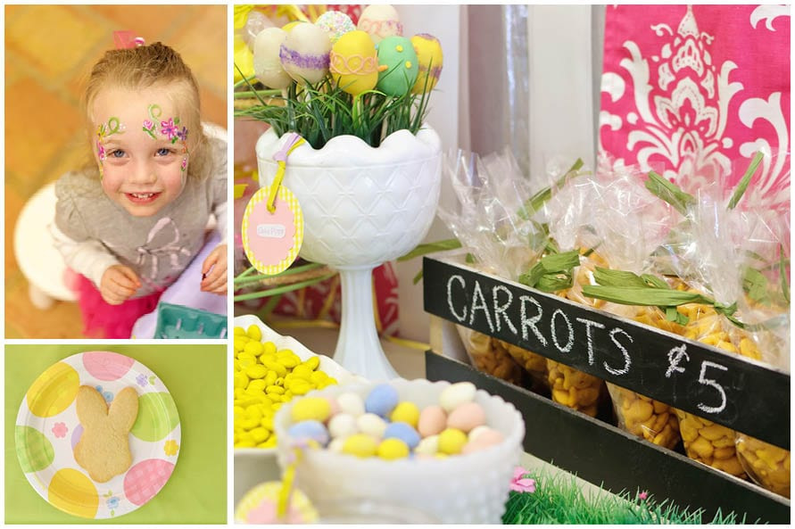 Cute Easter Bunny Hop Party!