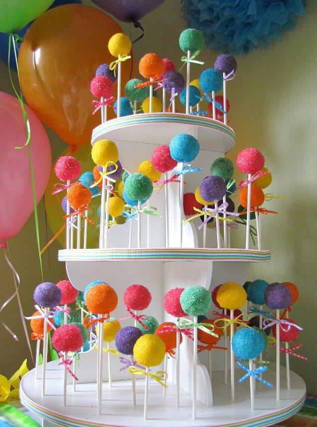 cupcake stand cake pop push pop