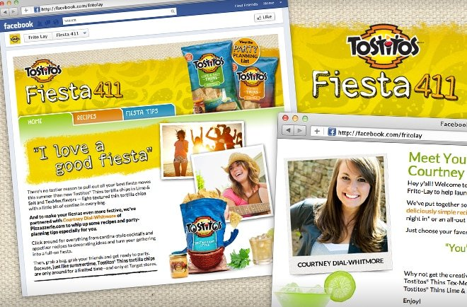 Fiesta 411 Tostitos Thins Frito Lay Courtney Dial Pizzazzerie