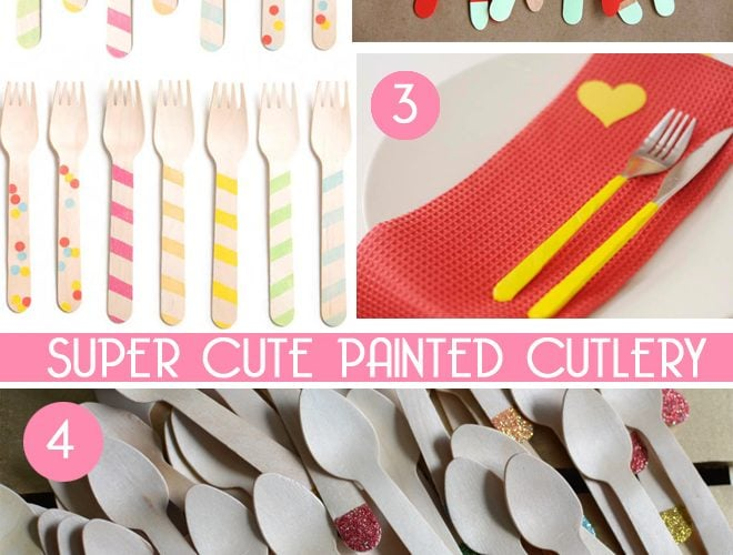 Party Find: Cute Utensils!