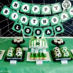 Paisley Petal Events soccer party dessert table