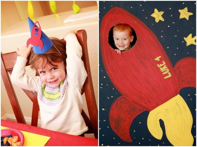 Rocket Party Decorations