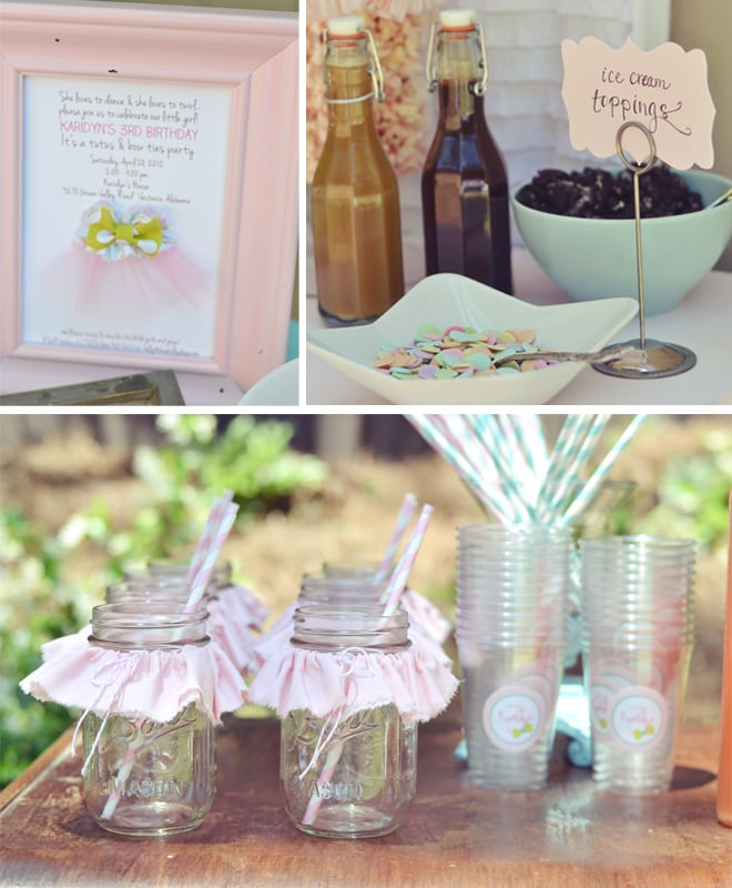TUTUS AND BOW TIES BIRTHDAY PARTY 3