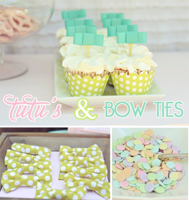 TUTUS AND BOW TIES BIRTHDAY PARTY