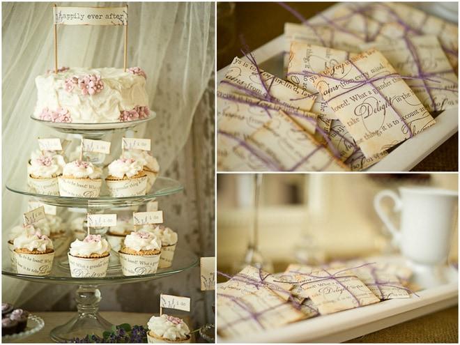 Vintage + Lavender Inspired Wedding Shoot