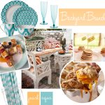 Celebrating Summer with a Backyard Brunch + Chic Luau!