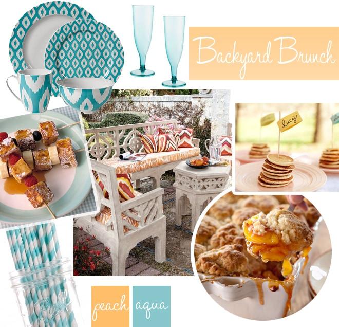 backyard brunch