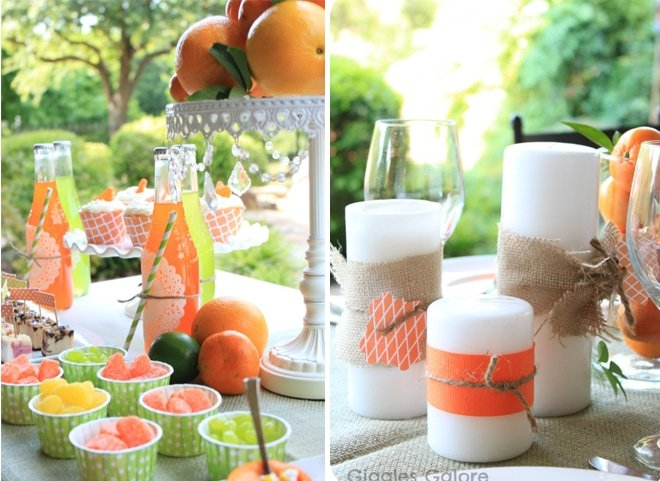 citrus dinner party table 2