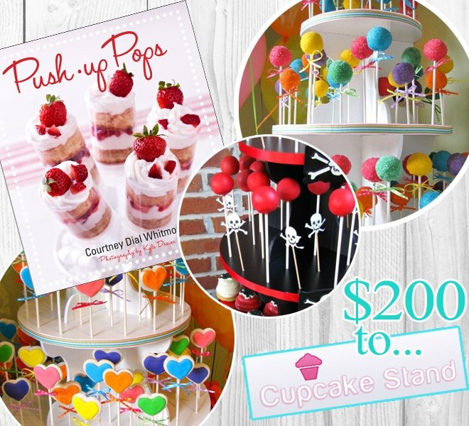 {Giveaway} Autographed Push-Up Pops Book & Push-Up Pops Stand!