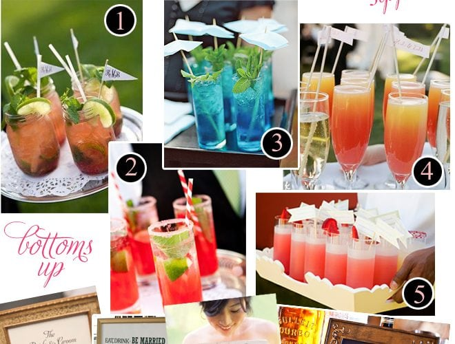 Signature Cocktail Ideas for Parties + Weddings!