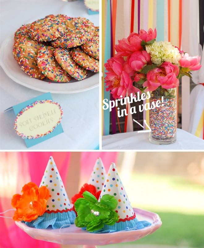 sprinkles themed birthday party 2