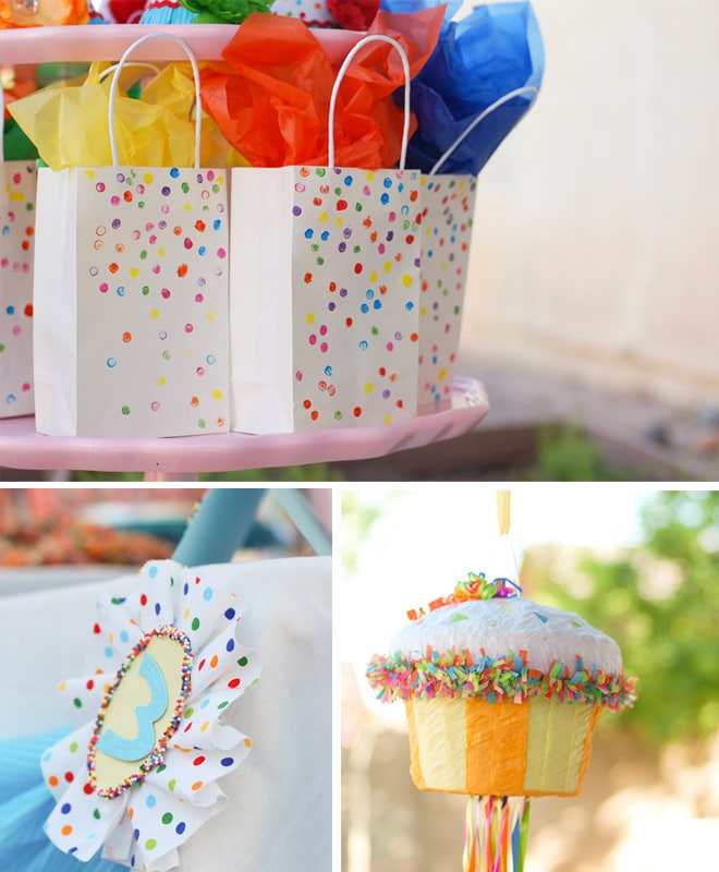 sprinkles themed birthday party 3