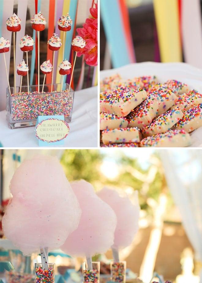 sprinkles themed birthday party 4