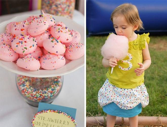 sprinkles themed birthday party 7