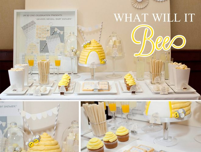 """What Will it Bee?"" Gender Reveal Shower!"