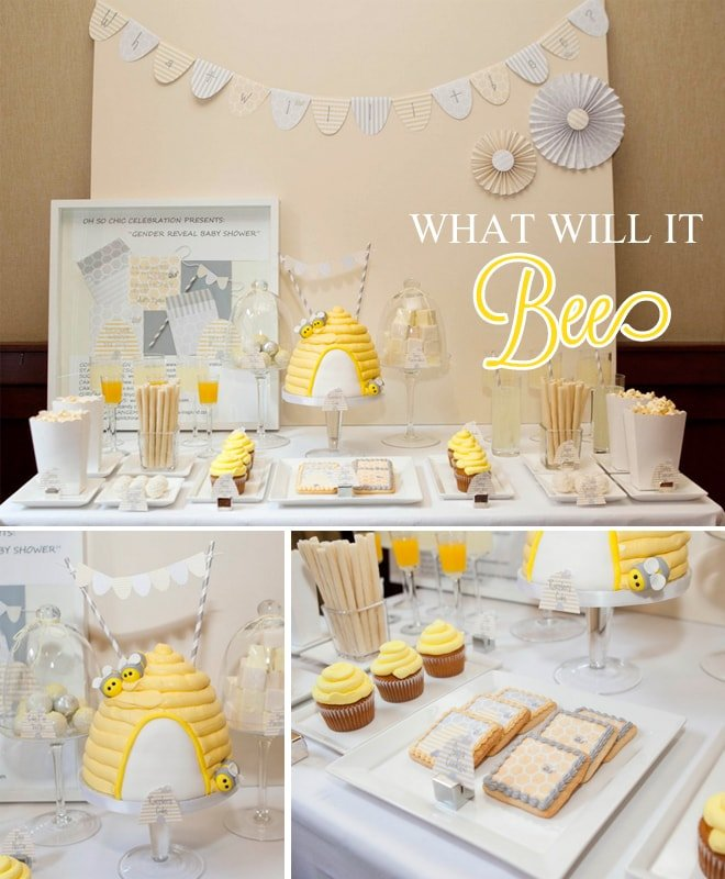 """""""What Will it Bee?"""" Gender Reveal Shower!"""