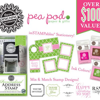 Pea Pod Paper & Gifts Giveaway on Pizzazzerie.com