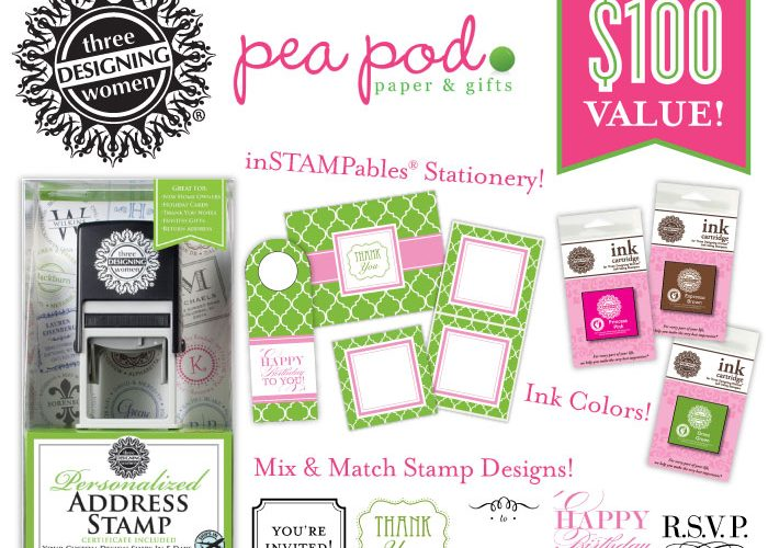 GIVEAWAY: Three Designing Women Basket from Pea Pod Paper & Gifts!
