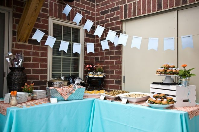 gourmet grilling party