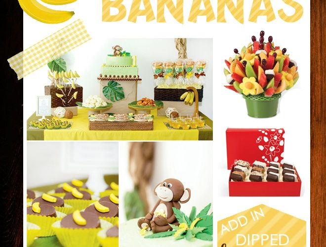 Let's go BANANAS this SUMMER: Monkey themed Party!