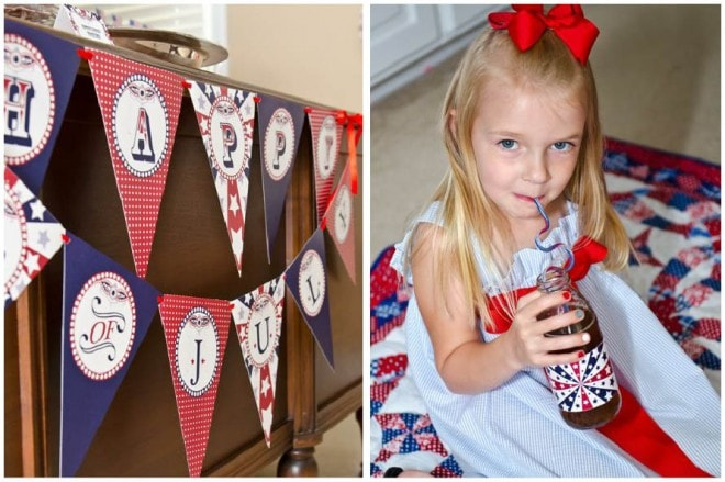 fourth of july declaration of independence day party