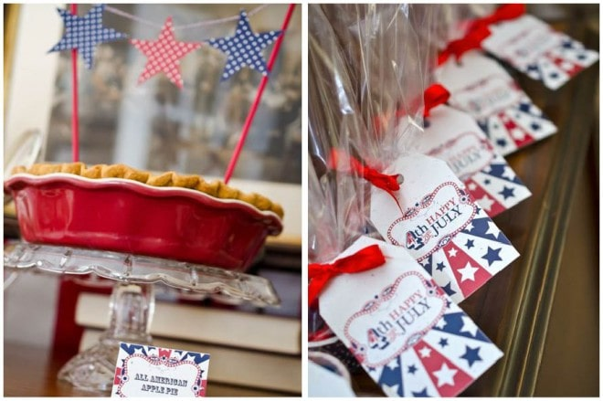 fourth of july pie party