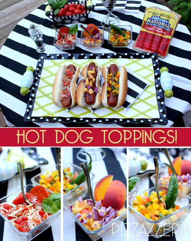 hebrew national hot dog entertaining