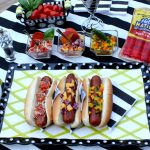 entertaining with hebrew national hot dogs