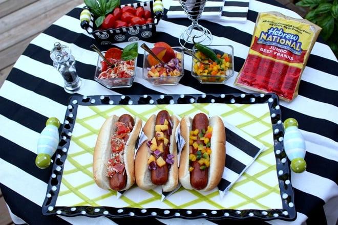 3 Delish Hot Dog Topping Recipes
