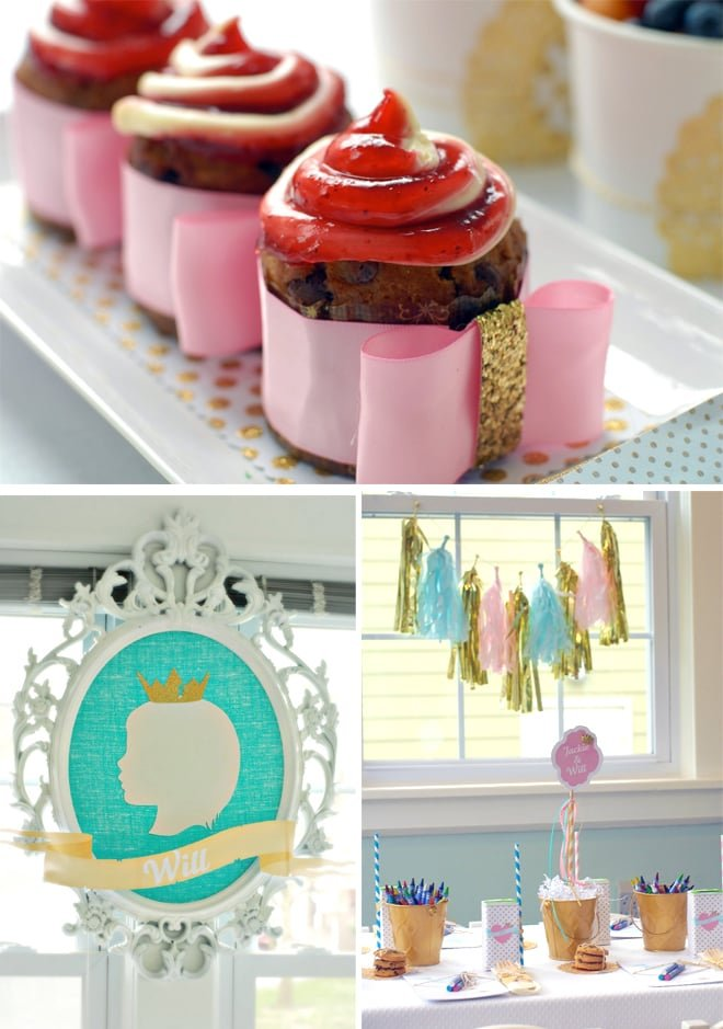 jack and jill themed dessert table