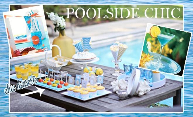 orbit gum chic poolside party