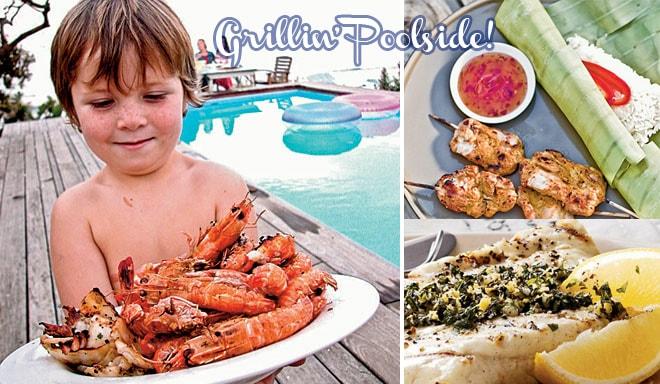 orbit gum grilling poolside recipes