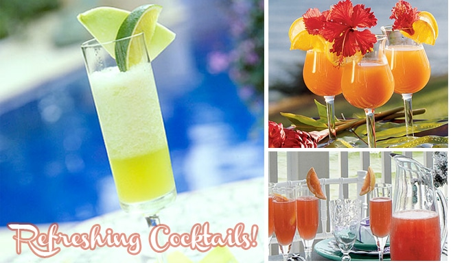 orbit gum refreshing pool party cocktail recipes