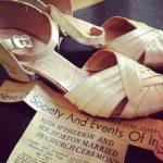 grandmother's wedding shoes