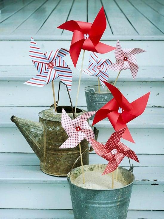 pinwheels july 4th
