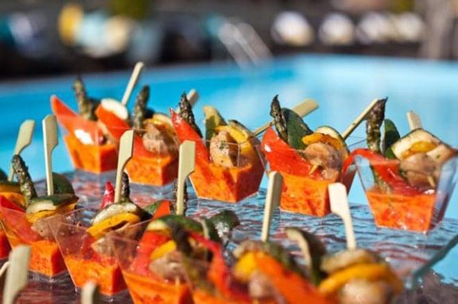 fancy mini appetizer party bites