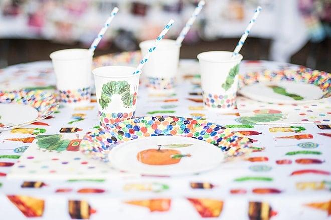 Very Hungry Caterpillar Birthday Party!